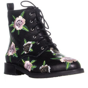 Rebecca Minkoff Gerry Embroidery Combat Boots